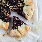 Grape Galette (Last of the Summer Vine)