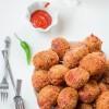 Bhejitabil  Chawp  :  Spicy  Vegetable  Croquet.