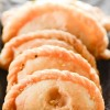 Mawa  Gujiya:  Sweet  Indian  pastry  for  Holi