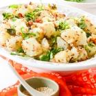 Sauted Potato and peanuts : Aloo aur moongphali Ki Sukhi Subji