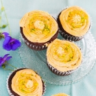How to make natural food colours using vegetables and an eggless chocolate cupcake.