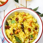 Nimbu chawal: Lemon rice