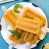 Masala ( Spiced ) mango Ice pops