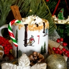 Hot Chocolate with winter spices