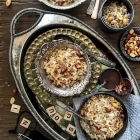 Sweetened flatttened rice: Mitha poha: Mishti Chirey; GF snack