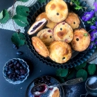 Haskap berry hand pies