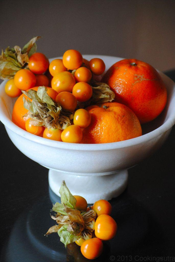 Gooseberries and Oranges