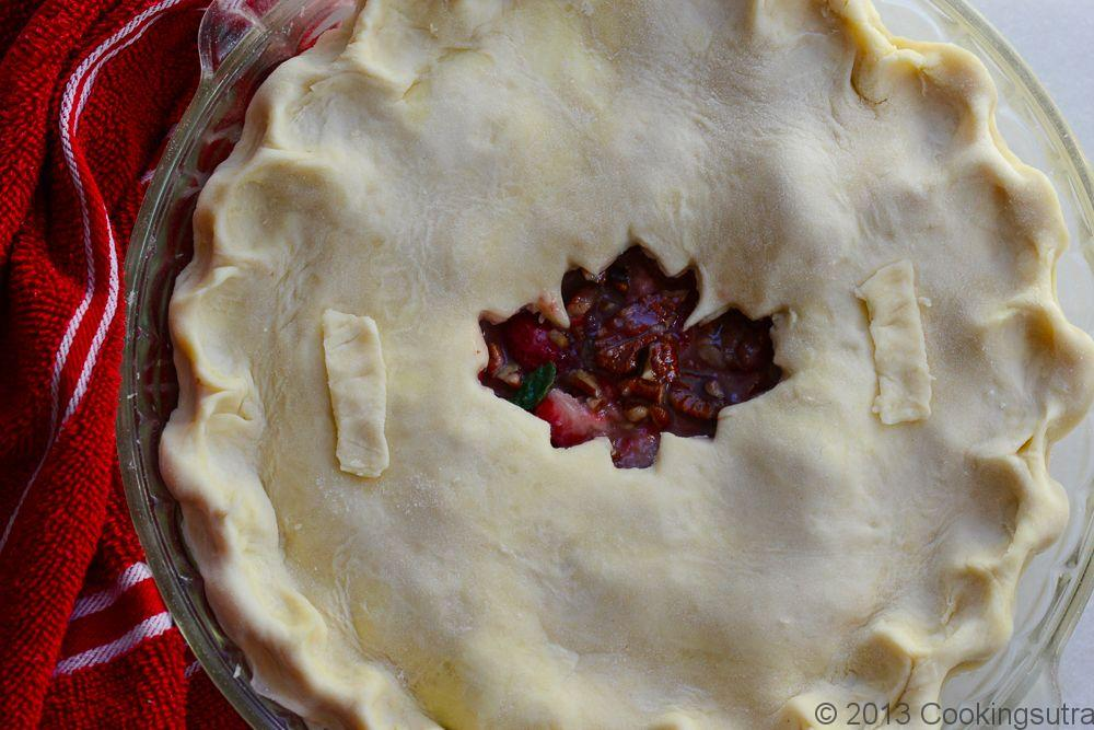 Strawberry  Pecan  Pie  for  Canada  Day