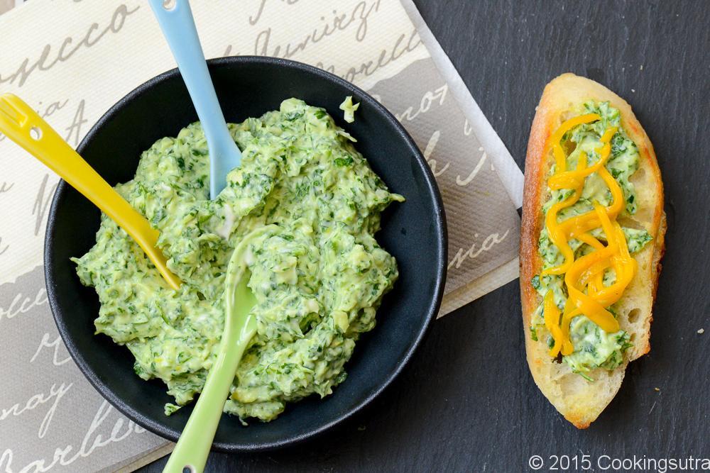 parsley and mango bruschetta-2