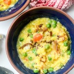 Bhaja Muger Dal: Roasted Yellow Mung bean soup