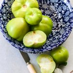 Tomatillo and Avocado dip