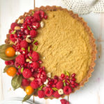 Mango tart with Cardamom flavour : Vegan option