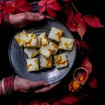 Bhapa shondesh ( Steamed milk fudge ) for Remembrance day