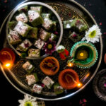 Lauki ki burfi : Bottle gourd fudge for Diwali