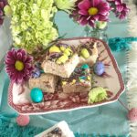 Milk powder Burfi (Fudge) for Easter